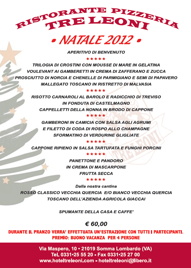 Menu Di Natale Leftpreventlife